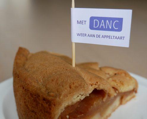 Met DANC weer aan de appeltaart
